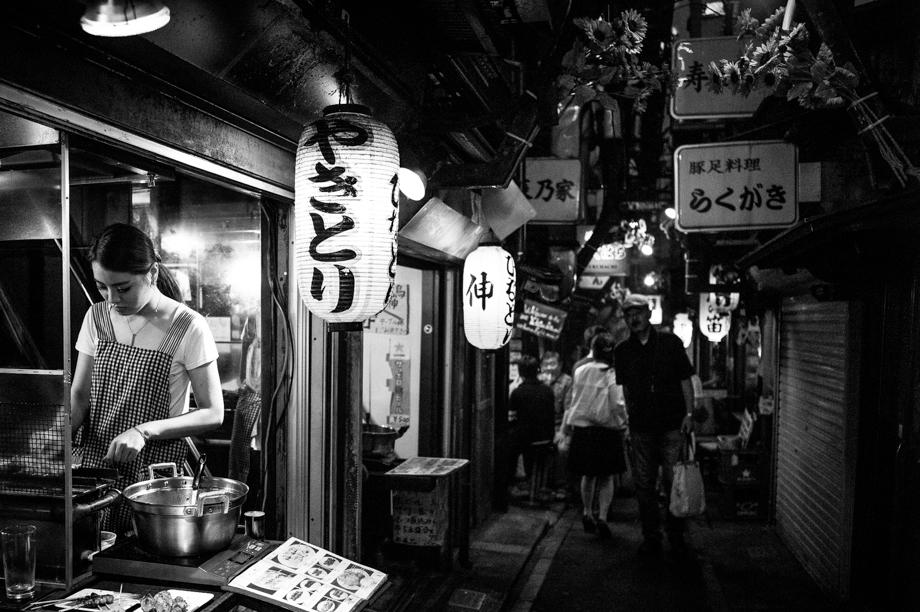 Shijuku's Yakitori Alley