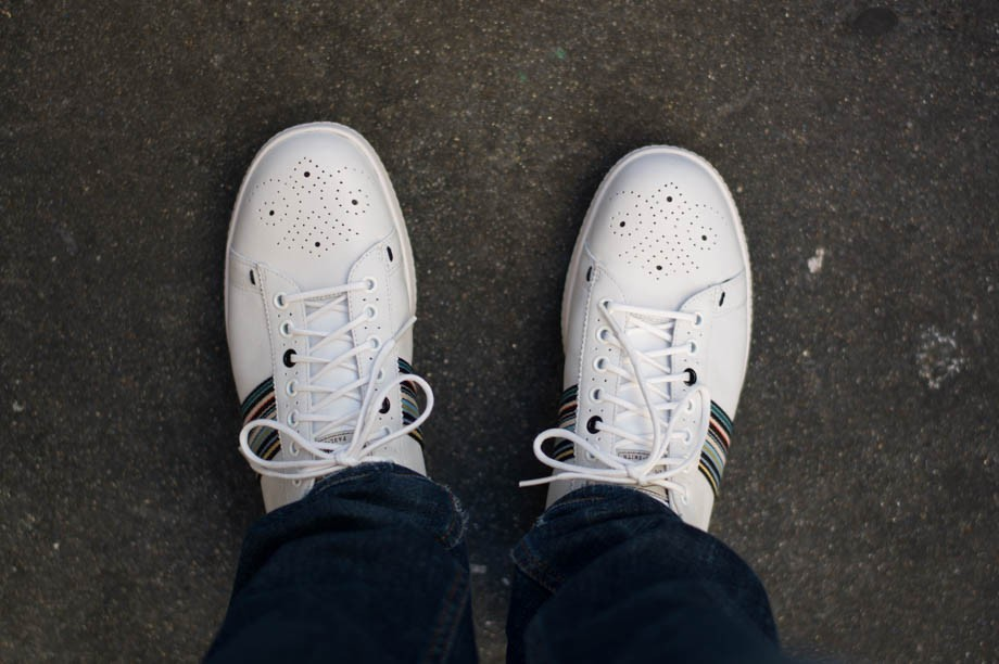 Paul Smith White Rabbit Sneakers