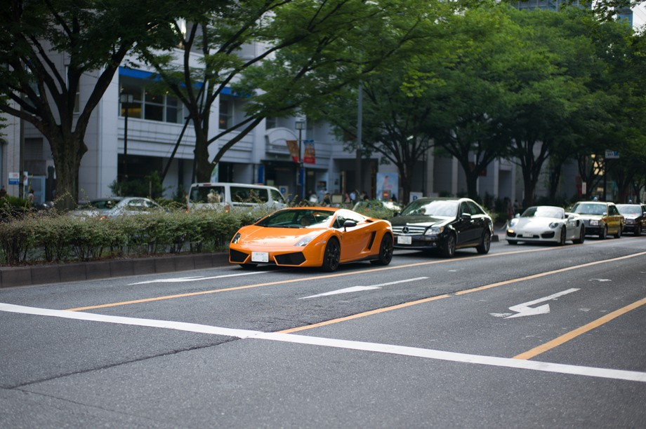 Cars in Tokyo