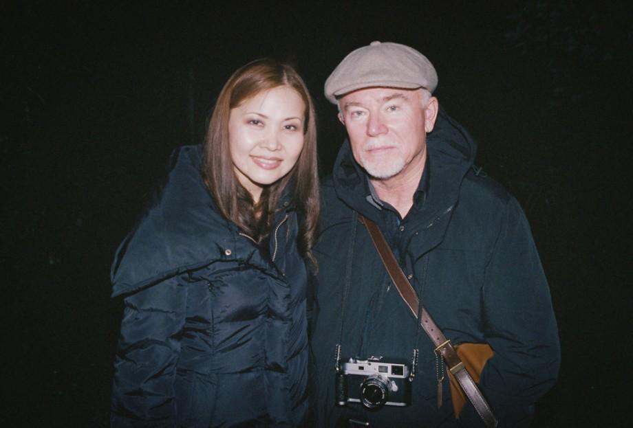 John Hall and Mayumi Powell