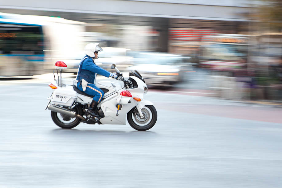 Tokyo motorcycle cop
