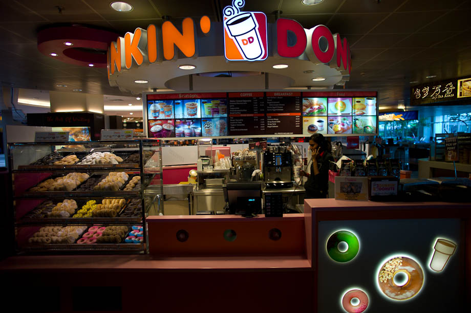 Dunkin Donuts in Asia