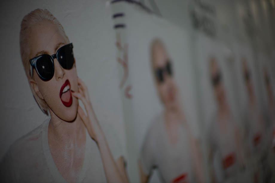 Lady Gaga Supreme Ad