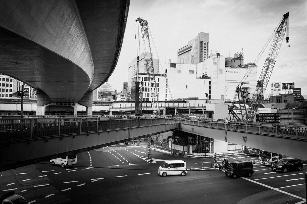 Shibuya Construction
