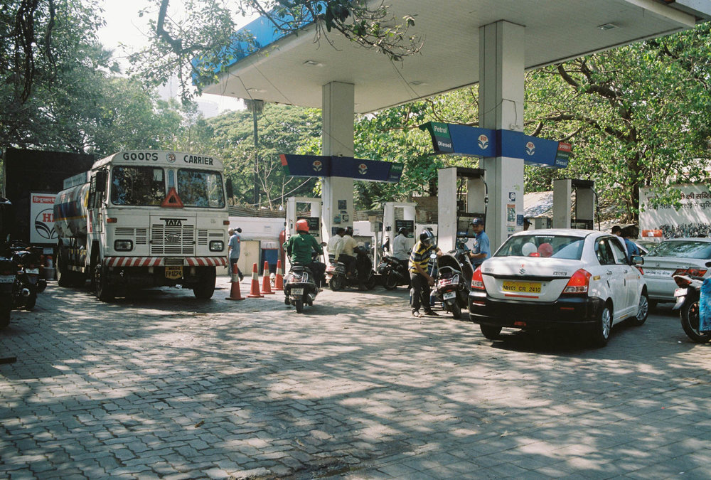 Mumbai Gas Station