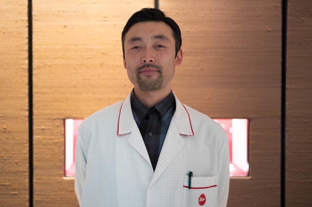Naoki from Leica Ginza