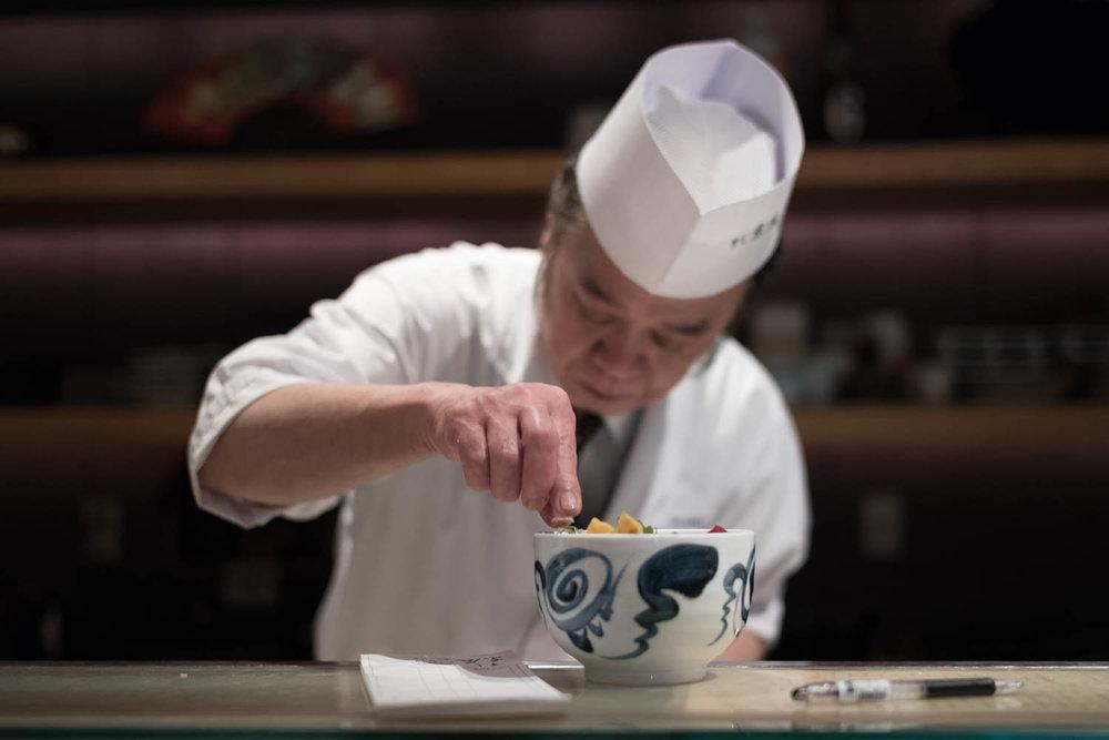 Narita Airport Sushi Chef