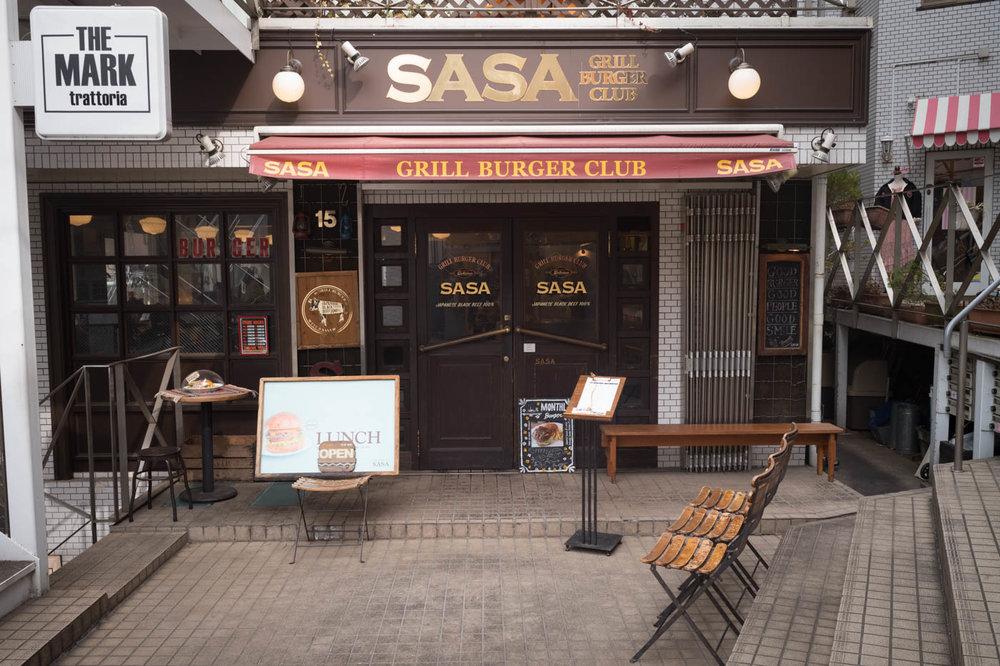 Sasa Grill Burger Club