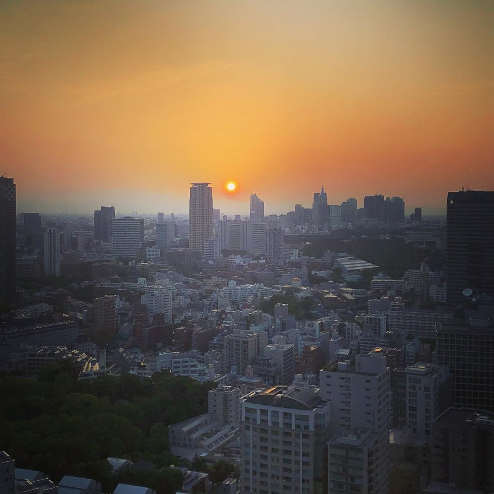 Akasaka Sunset