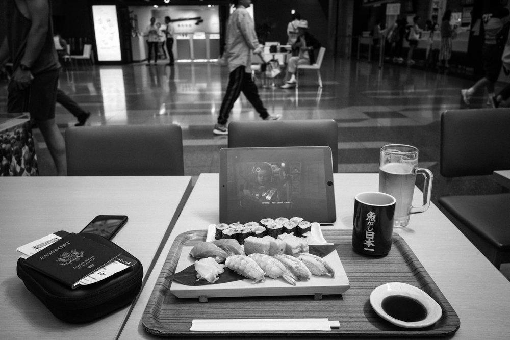Haneda Airport Sushi