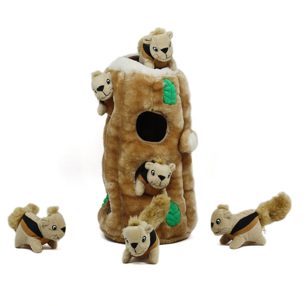 Outward Hound Hide-A-Squirrel Dog Toys
