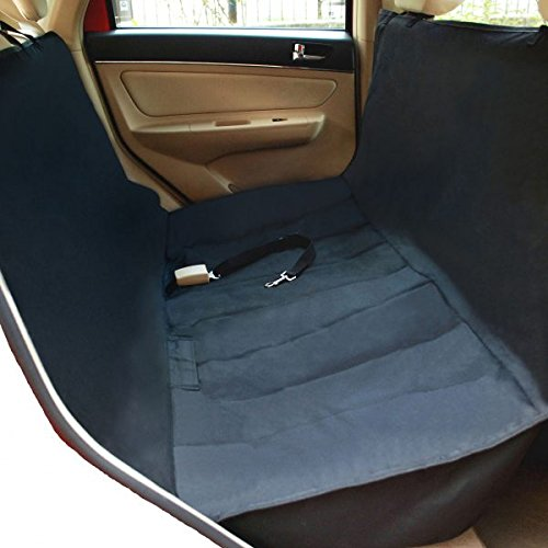 NAC&ZAC Deluxe Waterproof Pet Seat Cover With Bonus Pet Car Seat Belt