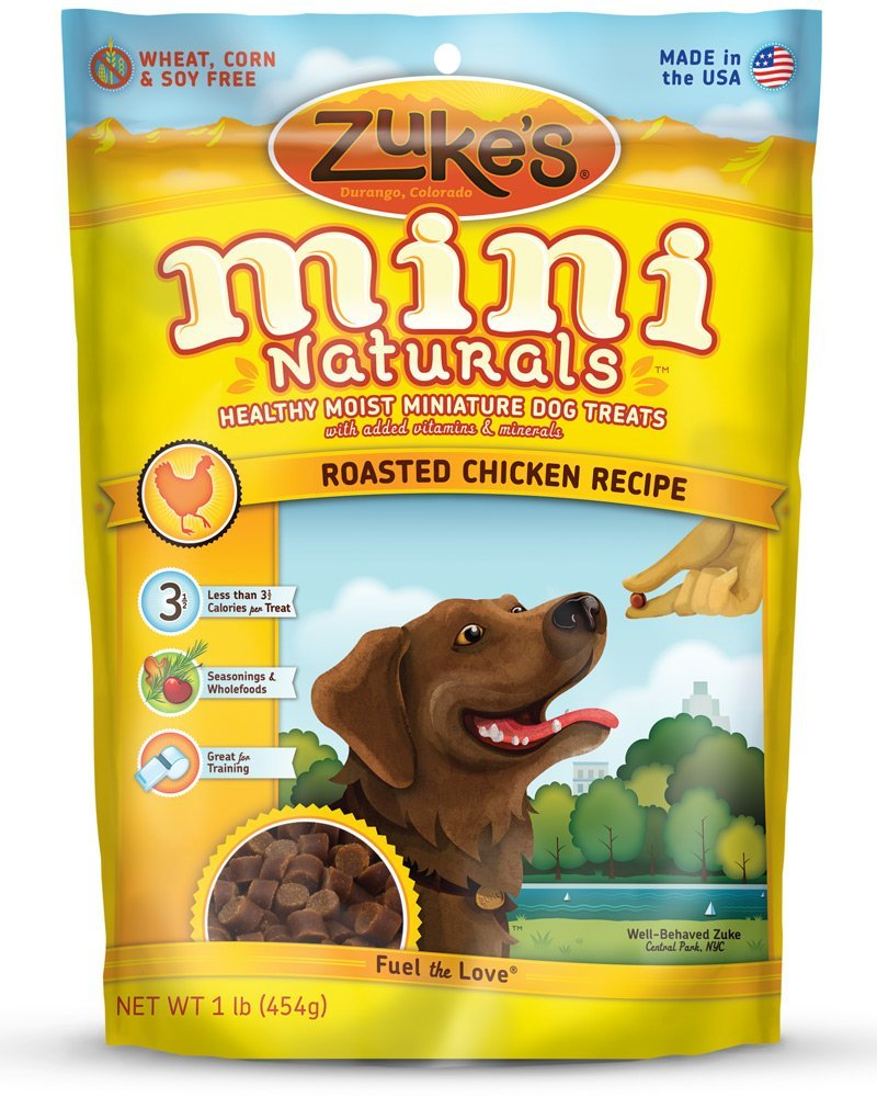 Zuke's Mini Naturals Healthy Moist Training Treats