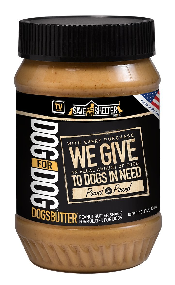DOG for DOG Dogbutter Original Peanut Butter with Flaxseed for Dogs