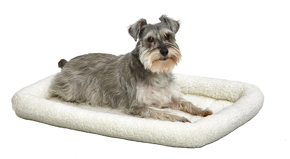 MidWest Deluxe Bolster Pet Bed for Dogs & Cats