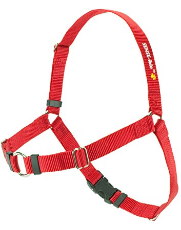 SENSE-ible No-Pull Dog Harness - Red Medium by Softouch