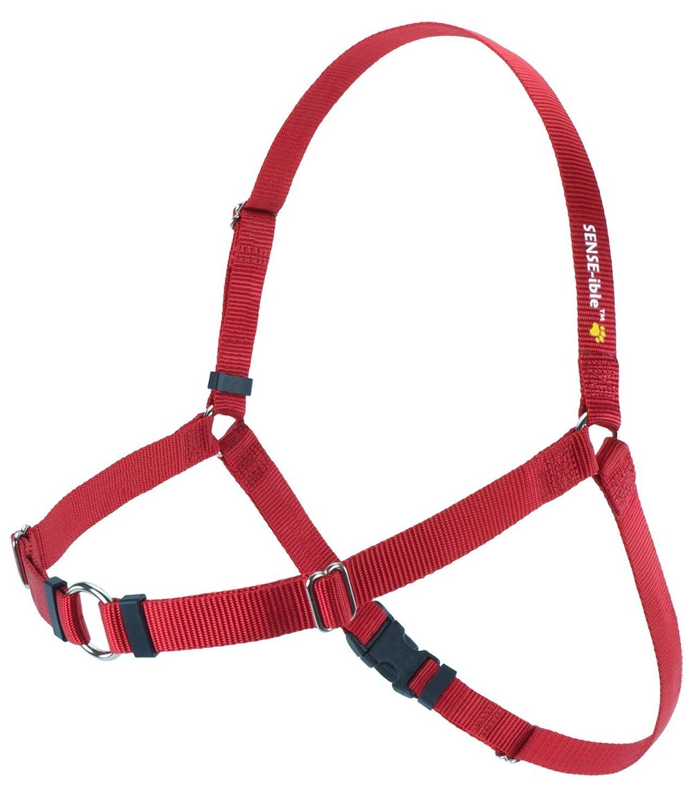 SENSE-ible No-Pull Dog Harness - Red XLarge by Softouch