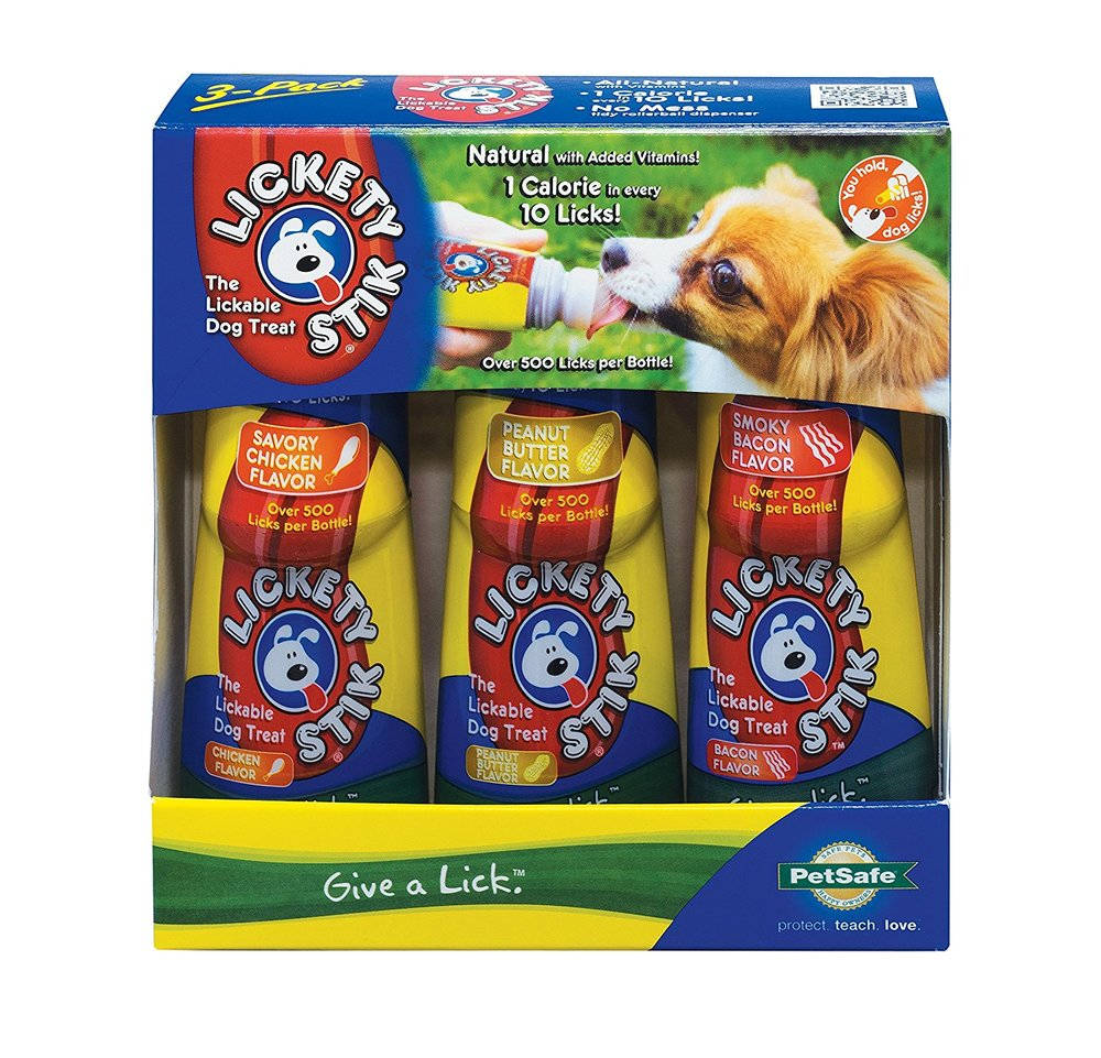 PetSafe Lickety Stik Low-Calorie Liquid Dog Treat