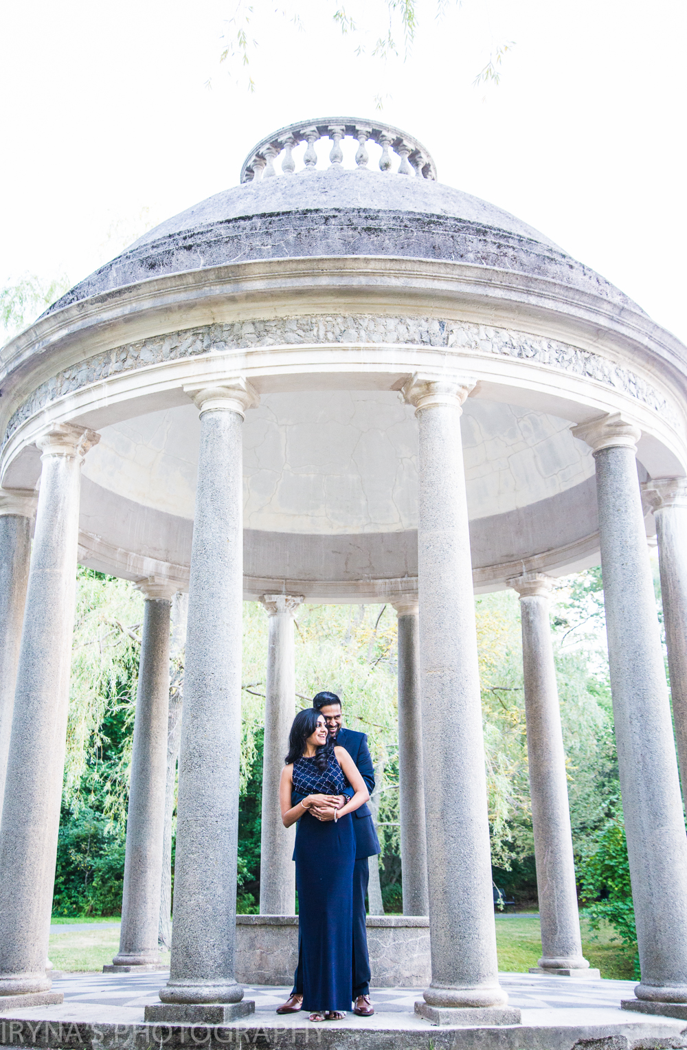 Larz Anderson Park Engagement Photos, Brookline MA