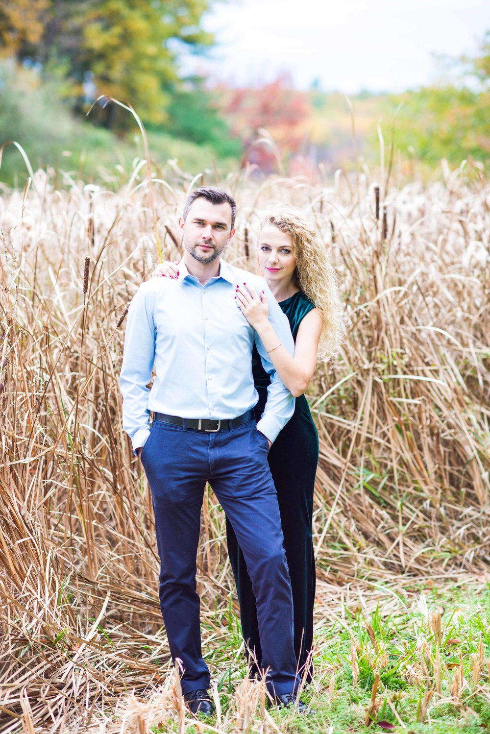 Engagement Photo Session in Wellesley College | Boston Wedding Photographer | Iryna's Photography