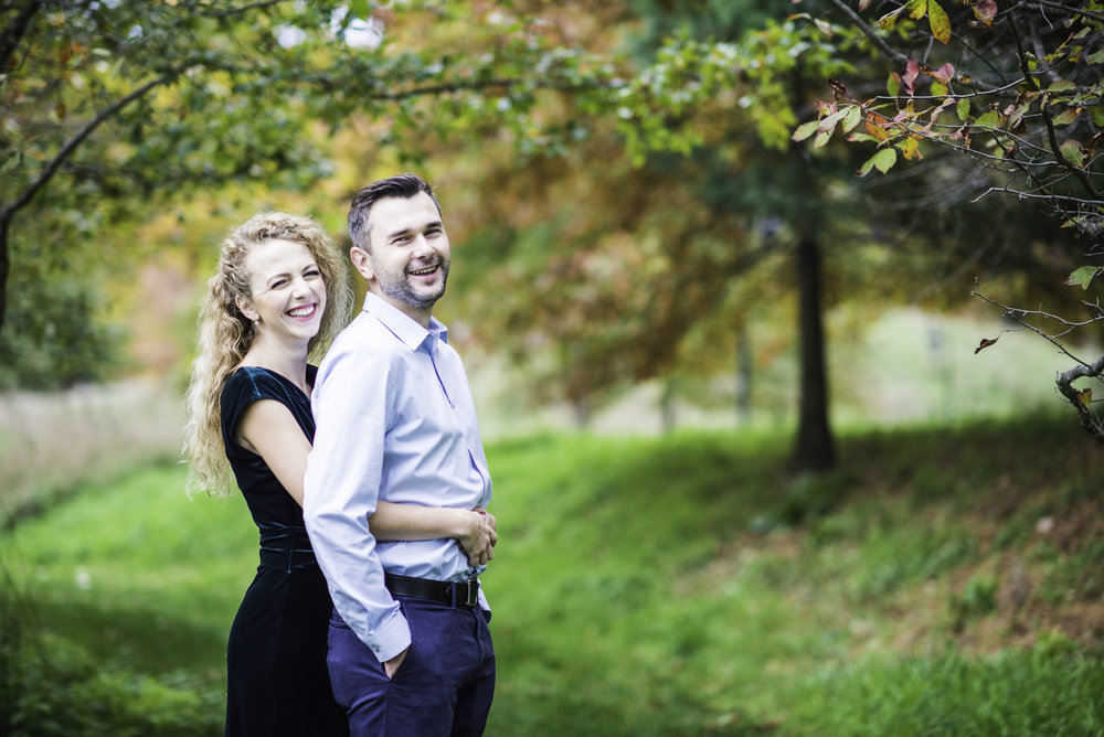 Wellesley College, MA Engagement Photography
