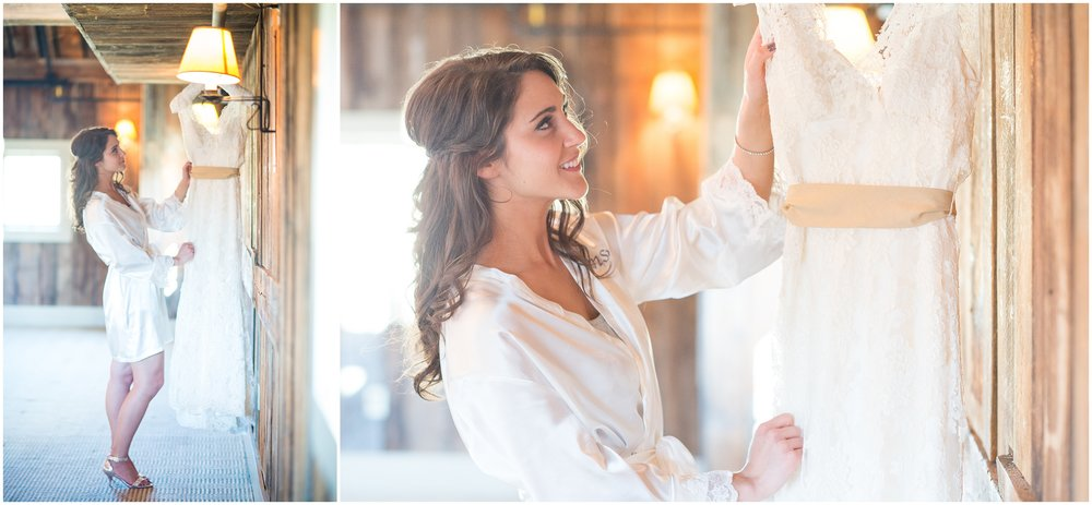 Boston Wedding Photographer | bride with dress