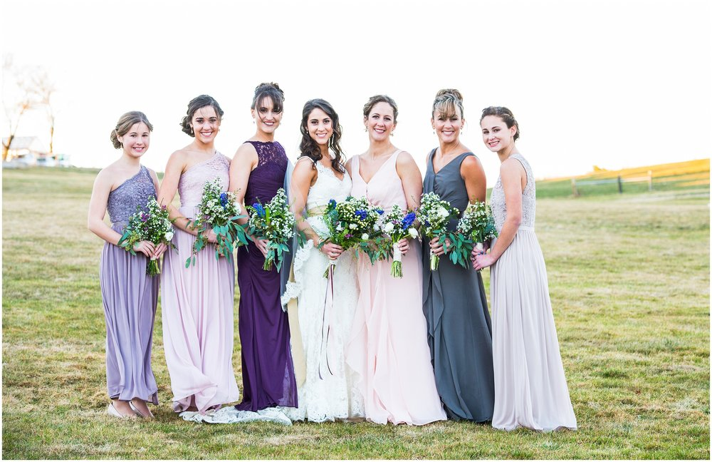 Bride and bridesmaids | Boston Wedding Photographer | boston wedding planners