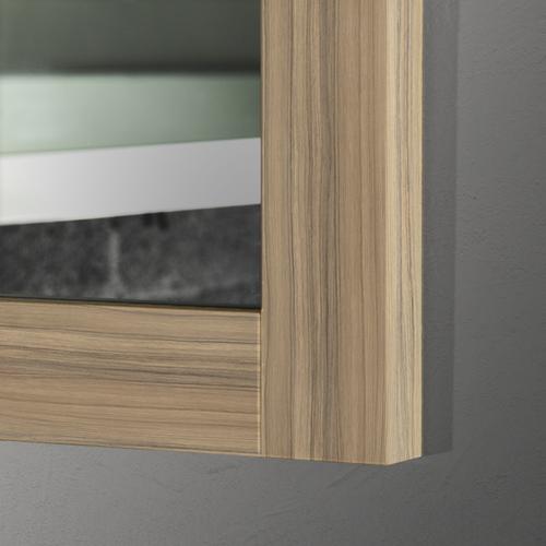 vanity mirror 36 x 60. 60  x 36 Coco Bolo Thick Wood Mirror Mirrors 2 Go Modern