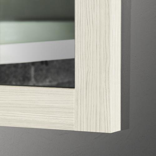 vanity mirror 36 x 60. 60  x 36 Hacienda White Thick Wood Mirror Mirrors 2 Go Modern