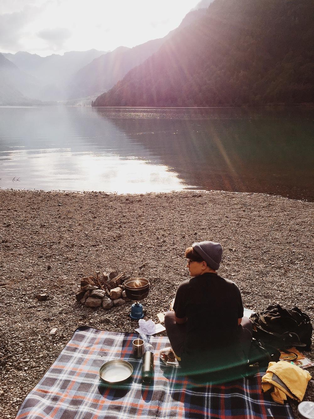 Wunderplunderschönes Kochen am See (: