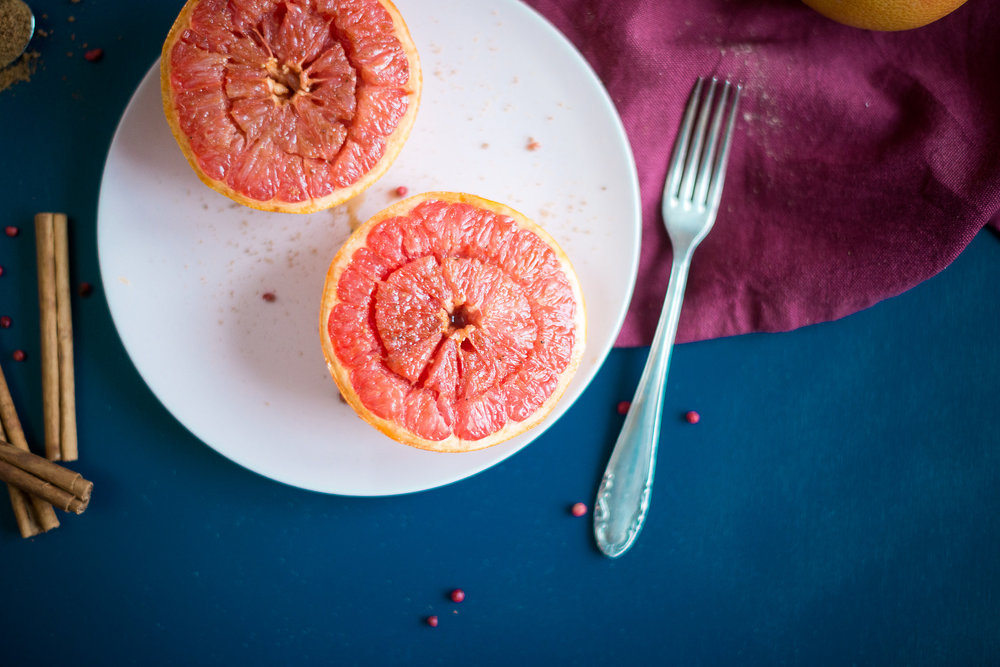Pfeffrig-süsse Grapefruit