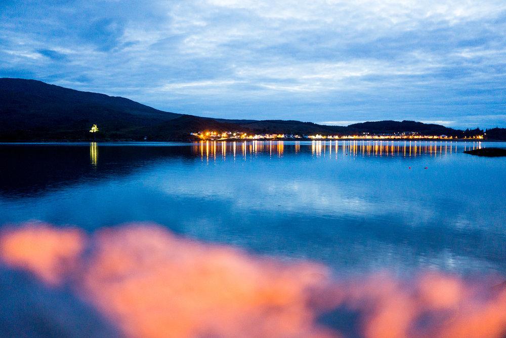 Kyle of Lochalsh: Blick auf die Isle of Skye