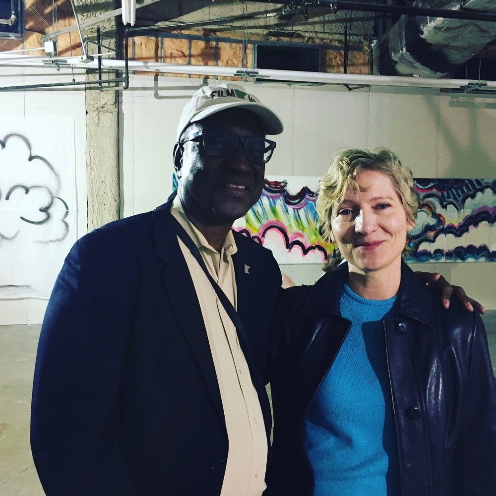 "Herman Milligan and Laura Stack at ""Cocoon"""