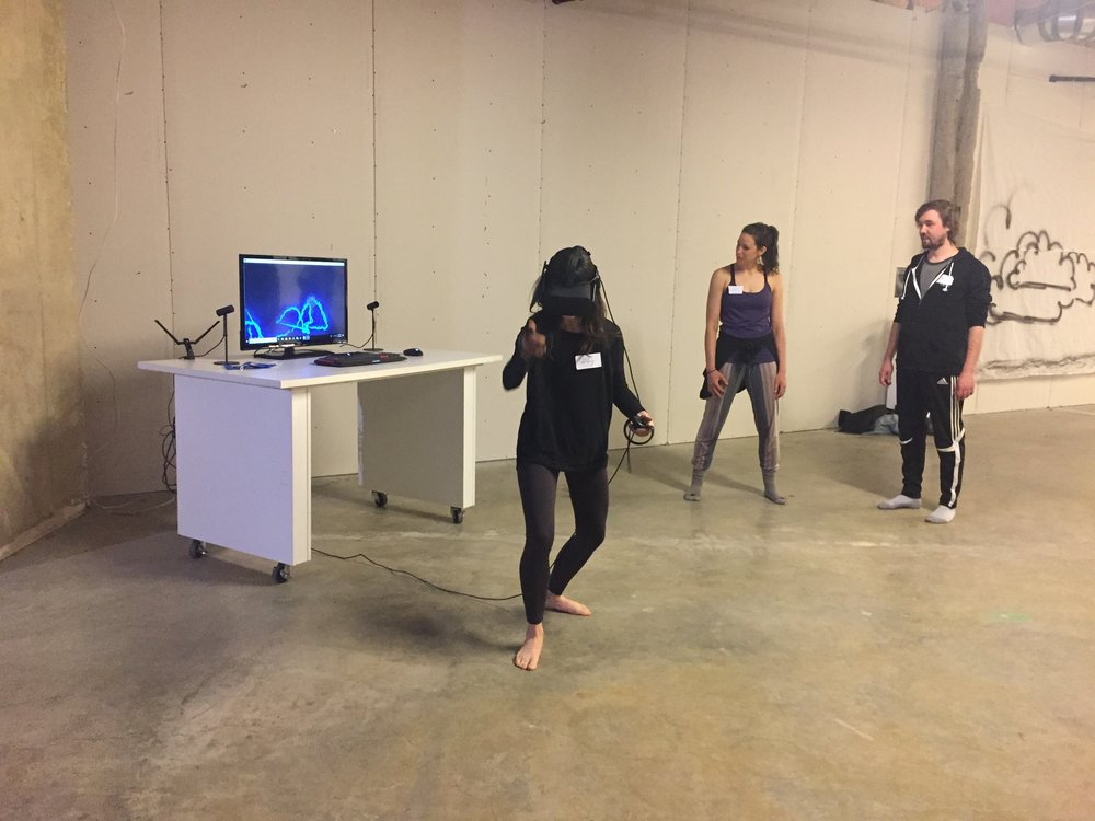 Yoga + VR with Tera Kilbride