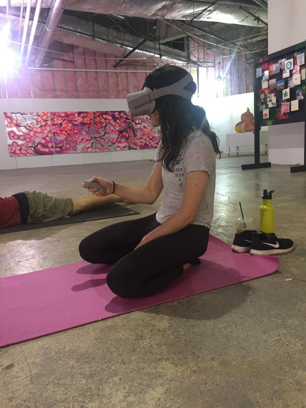 VR Yoga exploring wellness