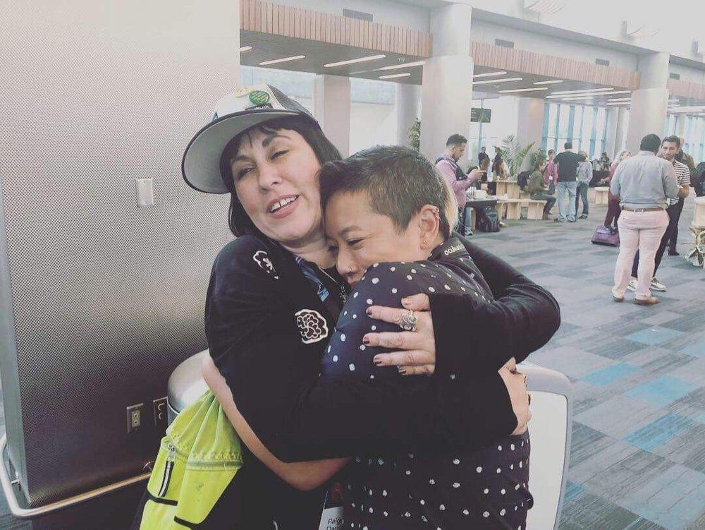 Giant Hugs
