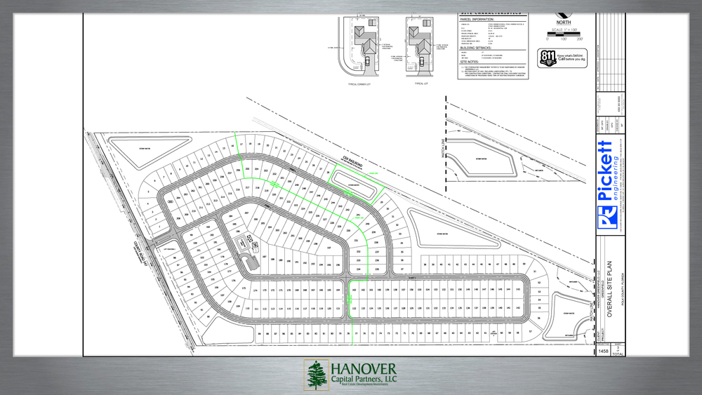 Greenfield Site Plan