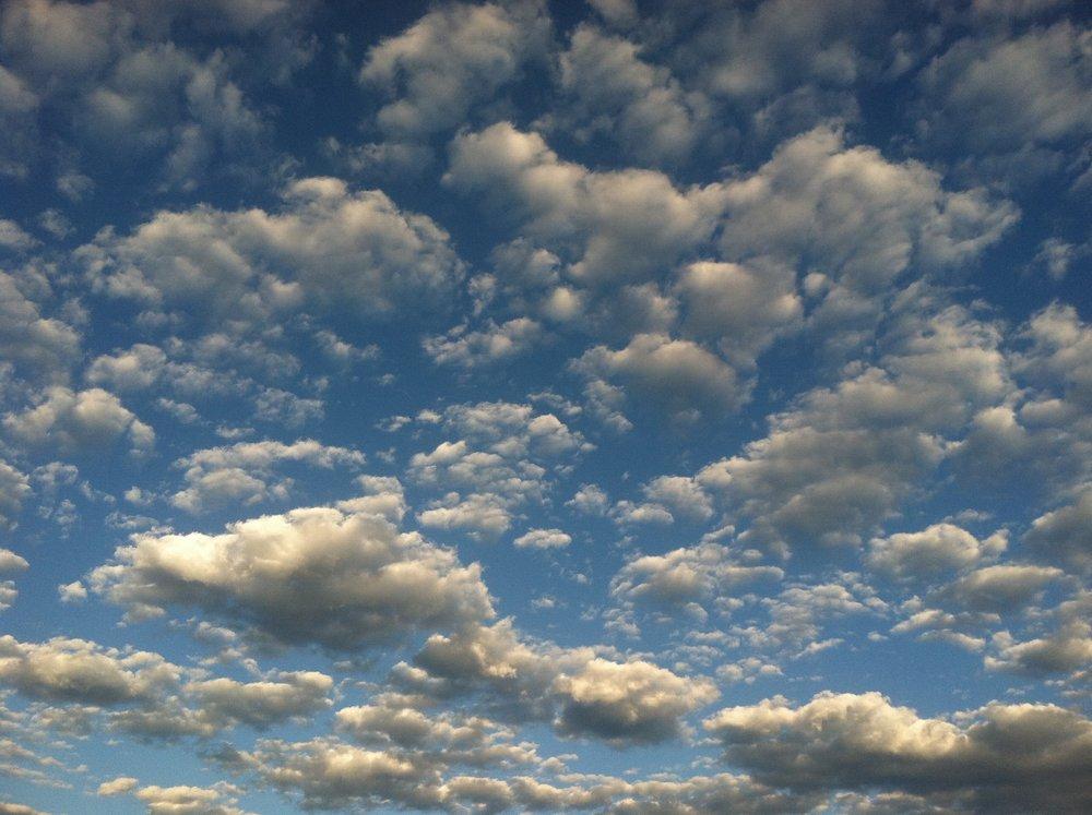 Sky and Clouds, Home, Colorado, USA