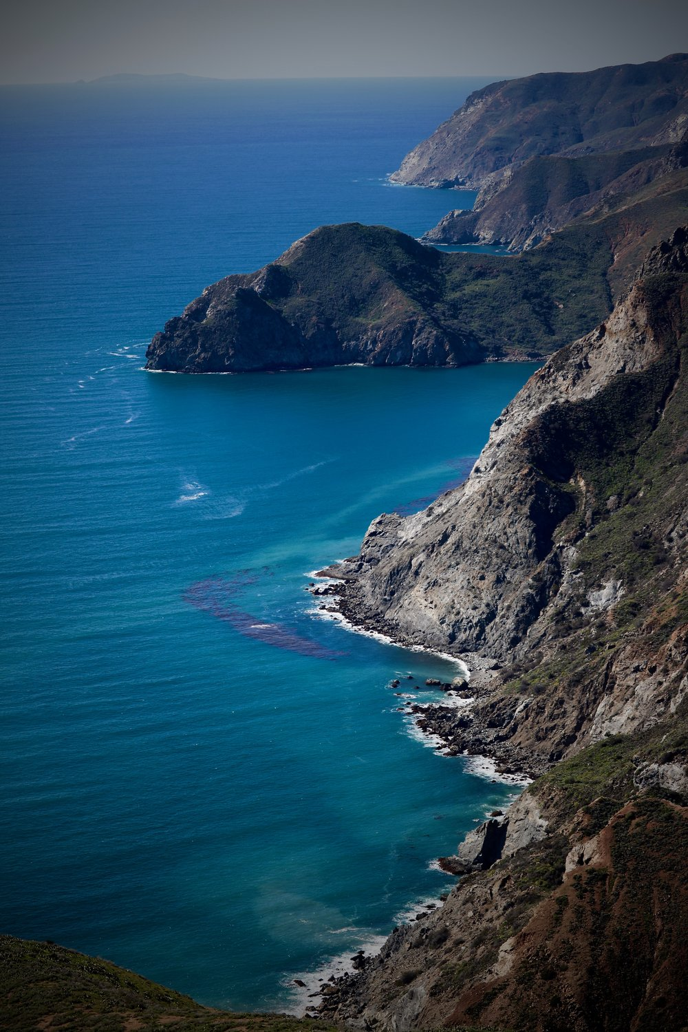 Windward, Catalina Island, California, USA, The Trans-Catalina Trail