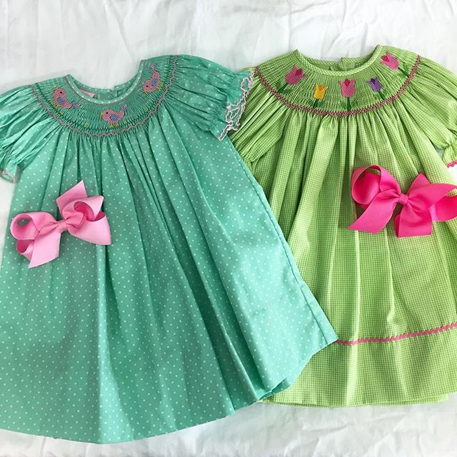 Happy Friday! We've got some oh so sweet spring and summer dresses for your littles. Call to order, 615.292.3576 #nashville #childrensboutique #nashvillemom #nashvilleshopping #nashvillekids #shoplocal #shoplocalnashville #childrensclothing #girlsclothes #spring #springstyle #summer #summerstyle #ootd #smocking