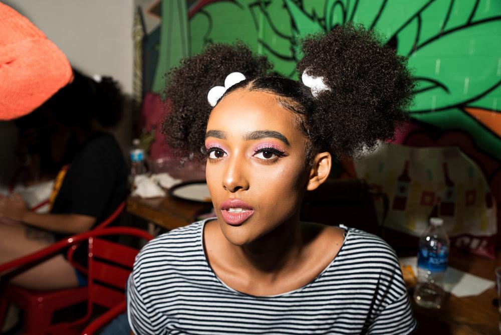 Model: Lydia Negussie  MUA: Yanna Jordan