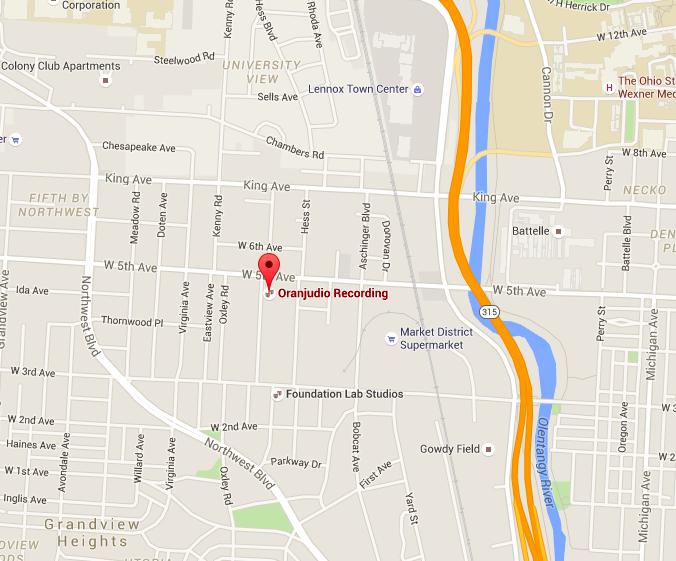 Oranjudio Map.png