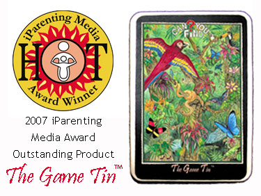 The Game Tin 2007 iParenting Media Award Outstanding Product
