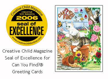 Can You Find? 2006 Creative Child Magazine Seal of Excellence
