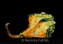 Paper Sculpture Gourd