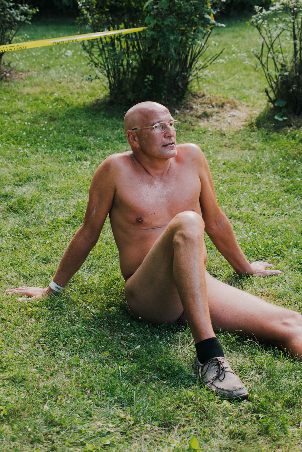 """""""There's a spark to life when you're meeting your friends in the nude that just isn't there when everyone has their clothes on"""" A man explains how he became a nudist, what happens and doesn't happen in nudist clubs and how non-nudists misinterpret the lifestyle Photo by Caroline Tompkins"""