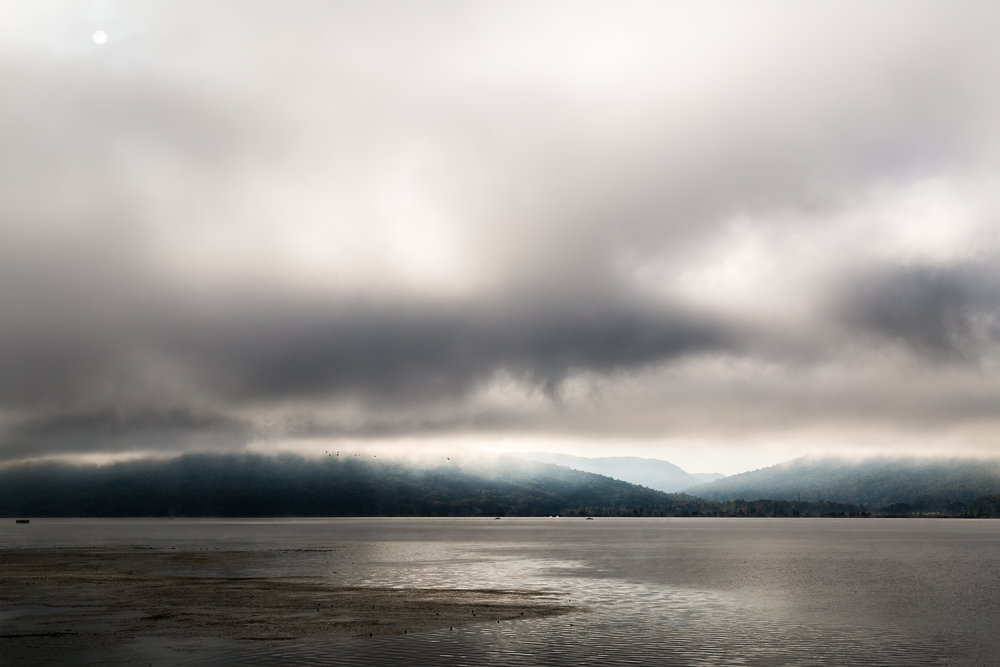 Morning light over Nickajack Lake, southeast Tennessee.