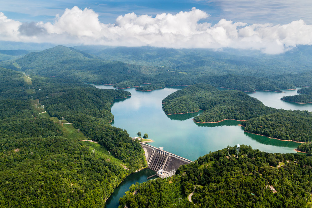 Ocoee Dam, east Tennessee.