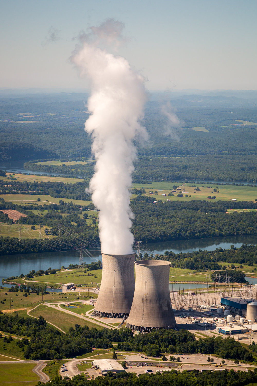 Watts Bar Nuclear Plant, Rhea County, Tennessee.