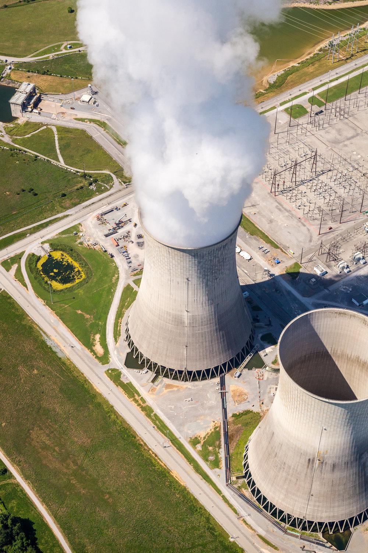 Watts Bar Nuclear Plant, Rhea County, Tennessee.